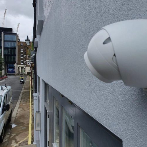 CCTV install at an Airbnb property