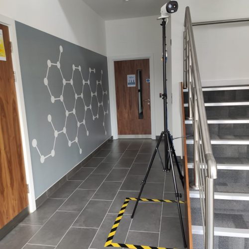 Office Foyer – High Accuracy Thermal Camera Installation