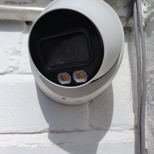 New Dahua Full Colour Camera Installation
