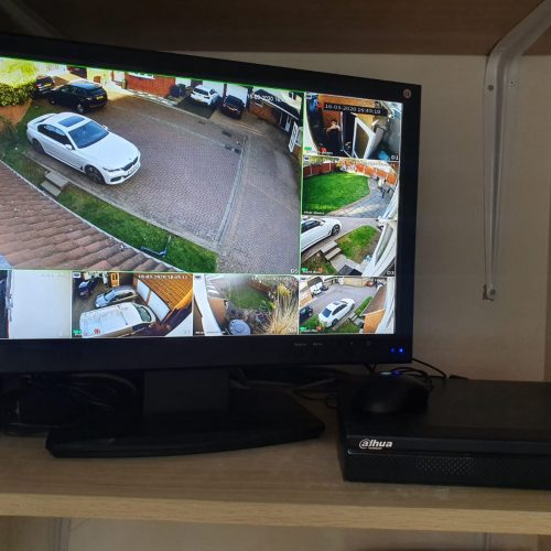 Dahua 8 Channel CCTV System Install